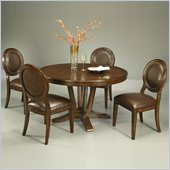 Pastel Furniture Devon Coast 5 Piece Dinette w/ Naples Side Chairs