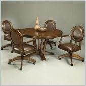 Pastel Furniture Devon Coast 5 Piece Dinette w/ Naples Arm Chairs