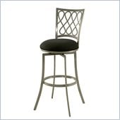 Pastel Furniture Keurig 30 Swivel Barstool in Klein Black