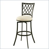 Pastel Furniture Keurig 26 Swivel Counter Stool in Klein Ivory
