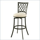 Pastel Furniture Keurig 30 Swivel Barstool in Klein Ivory