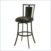 Pastel Furniture Sydney 26 Swivel Counter Stool in Black/Onyx
