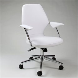 Pastel Furniture Ibanez Office Chair in Ivory