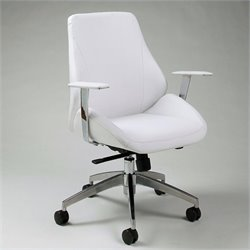 Pastel Furniture Isobella Office Chair in Ivory