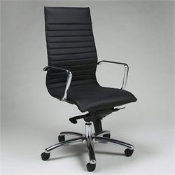 Pastel Furniture Kaffina Office Chair in Black