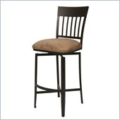 Pastel Furniture Aspen 26 Barstool in Topanga Brown
