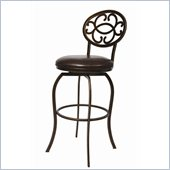 Pastel Furniture Lilly Ana 26 Barstool in Bonded Marquesa Leather