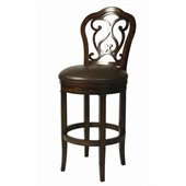 Pastel Furniture Fontana 30 Barstool in Bonded Ridge Leather