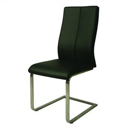 Pastel Furniture Olander Upholstered Dining Chair in Black