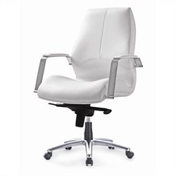 Pastel Furniture Andrew Office Chair in Ivory