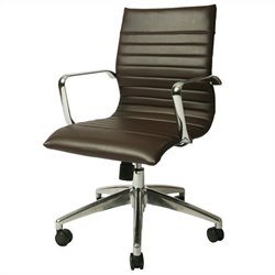 Pastel Furniture Janette Office Chair in Espresso