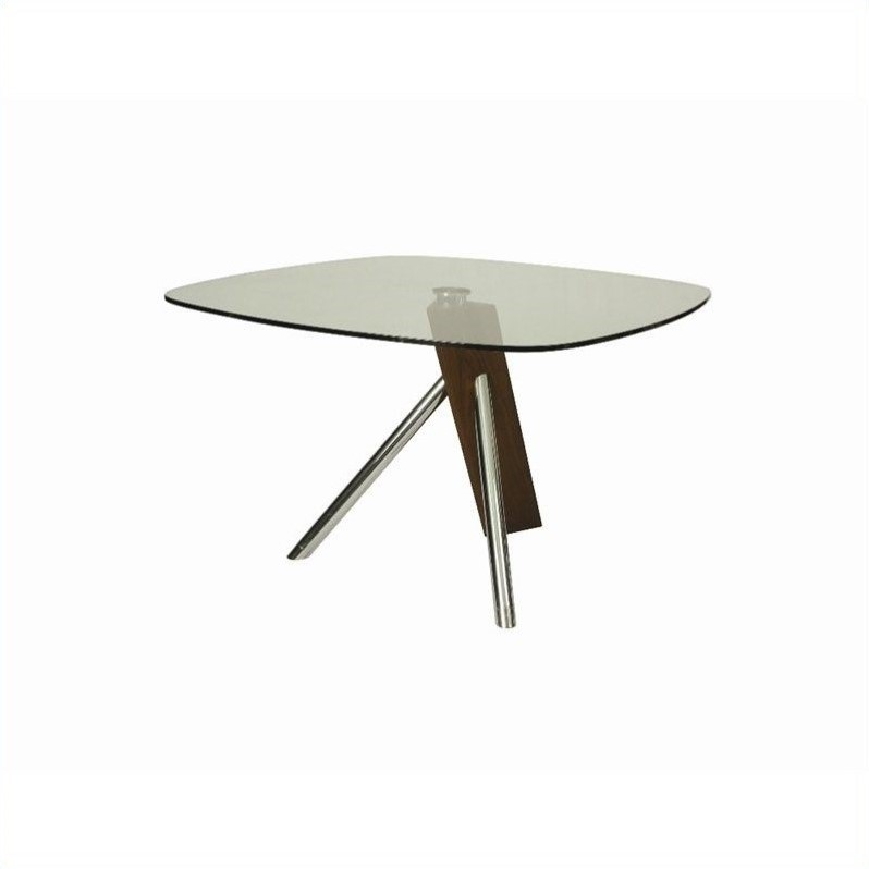 Pastel Furniture Greenwich 47 Squared Round Dining Table