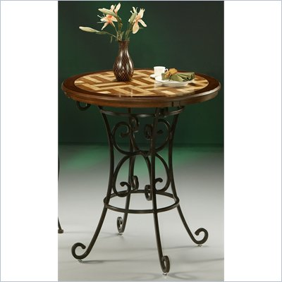 Pastel Furniture Magnolia 36&quot; Pub Table in Autumn Rust