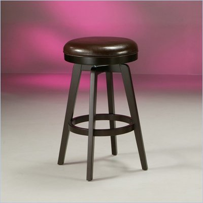 Pastel Furniture Royal Vista Espresso 30&quot; Backless Bar Stool in Stallion Brown