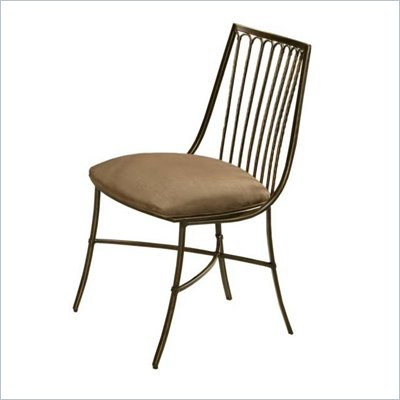 Pastel Furniture Victoria Side Chair in Legacy Copper