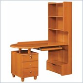 Global Furniture USA Emily Kids Wood Desk in Cherry