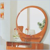 Global Furniture USA Emily Kids Mirror in Cherry Finish