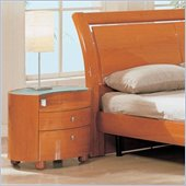 Global Furniture USA Emily Nightstand in Cherry