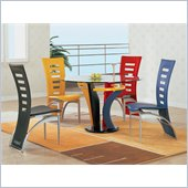 Global Furniture USA Neville Casual Multi-Color Dining Set