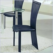 Global Furniture USA Jerret Y-Back Dining Chair in Black