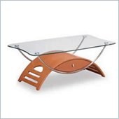 Global Furniture USA Occasional Coffee Table in Cherry