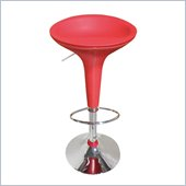 Global Furniture USA 219 Bar Stool in Red