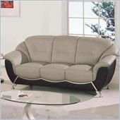 Global Furniture USA 6018 Sofa in Gray and Black