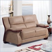 Global Furniture USA A1411 Loveseat in Montana Buckskin