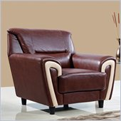 Global Furniture USA 4180 Chair in Brown/Cappuccino