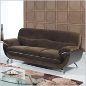 Global Furniture USA 4160 Sofa in Chocolate