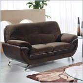 Global Furniture USA 4160 Loveseat in Chocolate