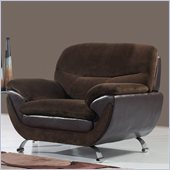 Global Furniture USA 4160 Chair in Chocolate
