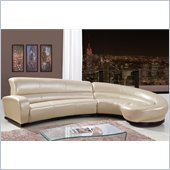 Global Furniture USA 958 2 Piece Sectional in Pearl