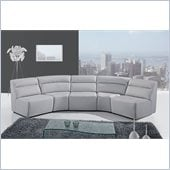 Global Furniture USA 3730 5 Piece Sectional in Grey