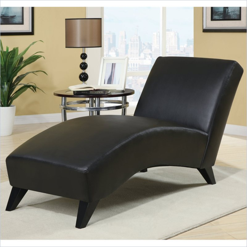 global furniture r1999r indoor chaise lounges black