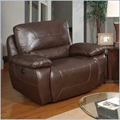 Global Furniture USA 1027 Power 1.5 Reclining Big Chair in Brown