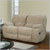 Global Furniture USA 2007 Recliner Loveseat in Champion Froth