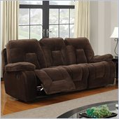 Global Furniture USA 3090 Recliner Sofa in Champion Chocolate