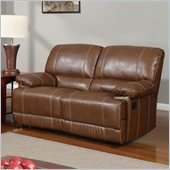 Global Furniture USA 9963 Reclining Loveseat in Rodeo Brown