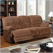 Global Furniture USA 9968 Reclining Sofa in Champion Brown Sugar