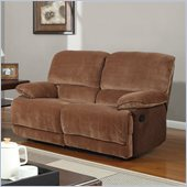 Global Furniture USA 9968 Reclining Loveseat in Champion Brown Sugar