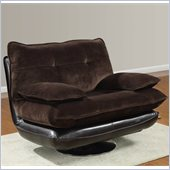 Global Furniture USA 3613 Swivel Chair in Champion Chocolate