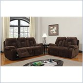 Global Furniture USA 3090 Recliner 2 Piece Sofa Set in Chocolate