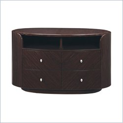 Global Furniture Emily Evelyn Entertainment Unit in Wenge