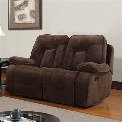 Global Furniture USA 3090 Recliner Loveseat in Champion Chocolate