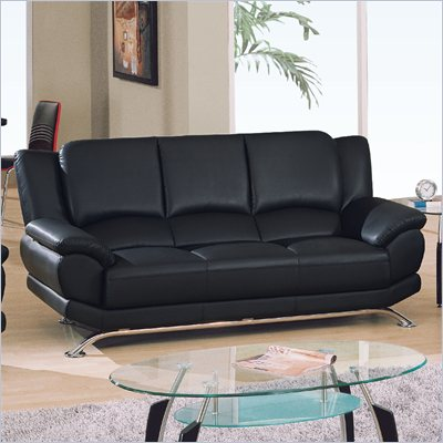 Global Furniture USA 9908 Sofa in Black