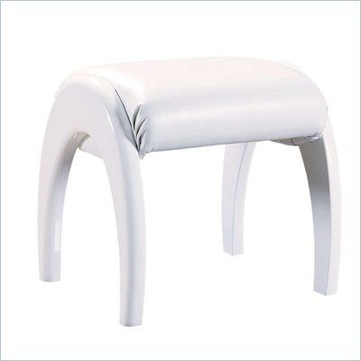 Global Furniture USA Emily Kids Stool in White