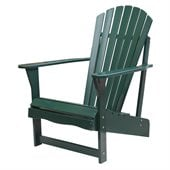 International Concepts Adirondack Chair in Hunter Green Finish