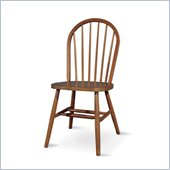 International Concepts Tall Windsor Wood Side Chair in Soft Cherry Finish
