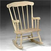International Concepts Unfinished Boston Rocker